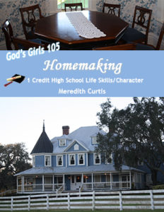God's Girls 105: Homemaking