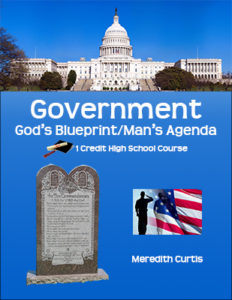 Government - God's Blueprint/Man's Agenda Class