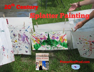 20th Century Splatter Painting