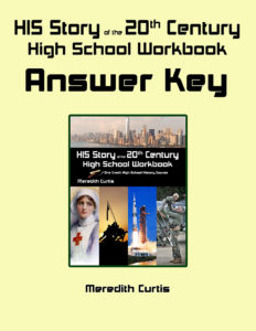 HIS Story of the 20th Century High School Workbook Answer Kay