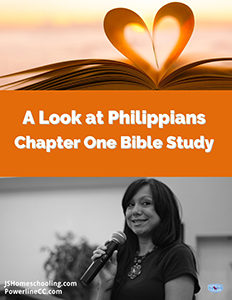 A Look At Philippians 1 Bible Study