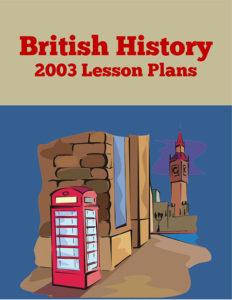 British History 2003 Lesson Plans