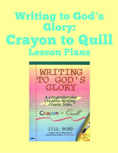 Lesson Plans for Writing to God's Glory