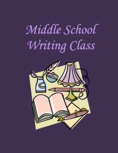 Middle School Writing Class wtih Write Stuff & UW