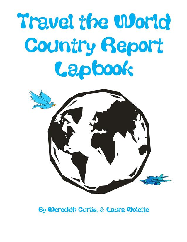 Travel the World Country Report Lapbook