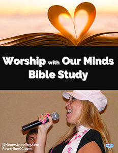 Worship with Our Minds BIble Study