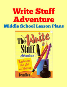 Write Stuff Adventure Middle School Lesson Plans
