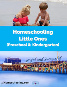 Homeschooling Little Ones