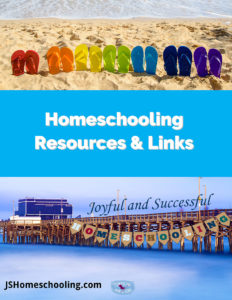 Homeschooling Resources and Links