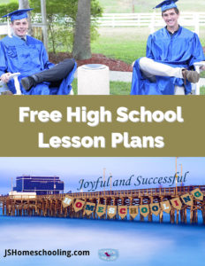 Free Homeschooling High School Lesson Plans