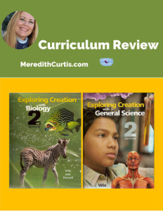 Curriculum Review Apologia Science Textbooks