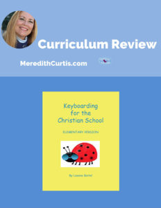 Curriculum Review Keyboarding for Christian Schools