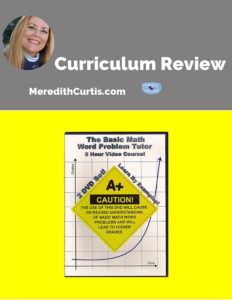 Curriculum Review Math Tutor