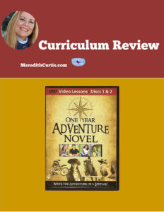 Curriculum Review One Year Novel Adventure