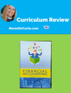 Curriculum Review Professor in a Box Accounting