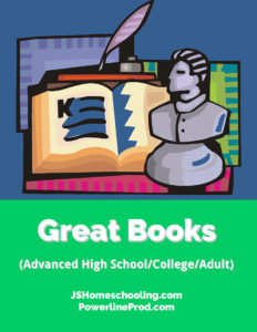 Reading List - Great Books (Advanced High School/College/Adult)