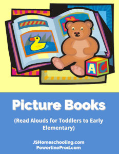 Reading List - Picture Books (Read Alouds for Toddlers to Early Elementary)