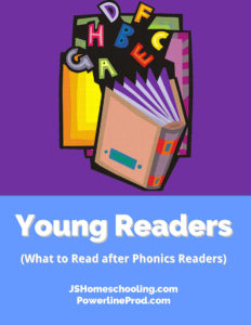 Reading List - Young Readers (What to read after phonics readers)