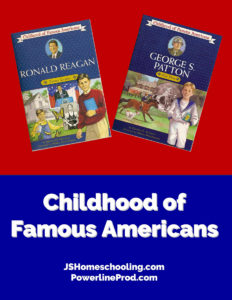Reading List - Childhood of Famous Americans