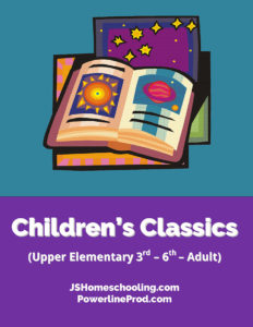 Reading List - Children's Classics (Upper Elementary 3rd-6th -- Adult)