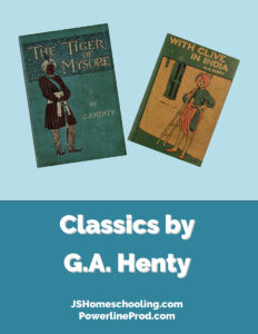 Reading List - Classics by G.A. Henty