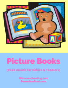 Reading List - Picture Books (Read Alouds for Babies & Toddlers)