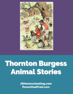 Reading List - Thornton Burgess Animal Stories