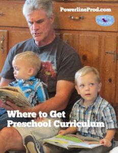 Where to Get Preschool Curriculum
