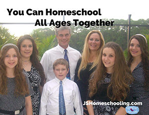 You Can Homeschool All Ages Together