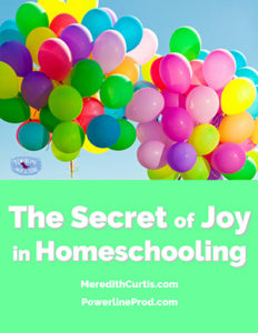 The Secret Joy of Homeschooling