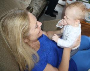 Grandmerey and baby