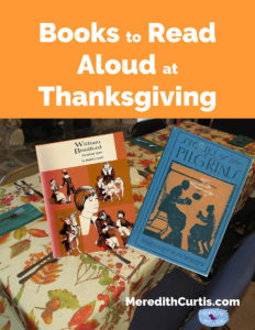 Books to Read Aloud at Thanksgiving