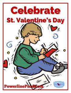 Celebrate St Valentines Day