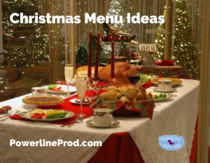 Christmas Menu Ideas