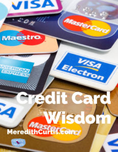 Credit Card Wisdom