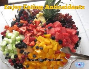 Enjoy Eating Antioxidants