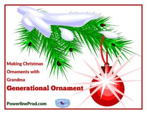 Generational Ornament