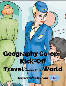 Geography Co op Kick Off Travel Around the World