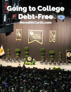 Going to College Debt-Free