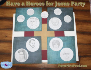 Have a Heroes for Jesus Party