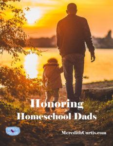 Honoring Homeschool Dads
