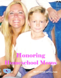Honoring Homeschool Moms
