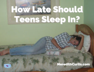 How Late Should Teens Sleep In