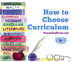 How to Choose Curriculum