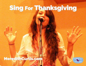 Sing for Thanksgiving