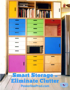 Smart Storage to Eliminate Clutter