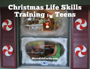 Christmas Life Skill Training for Teens