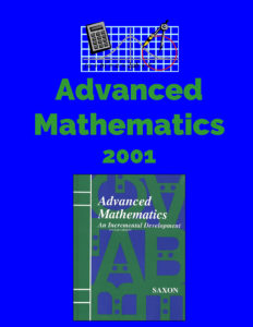 Advanced Mathematics Lesson Plans 2001 Saxon