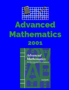 Advanced Mathematics Lesson Plans 2001 Saxon
