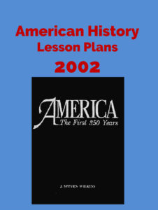 American History Lesson Plans 2002